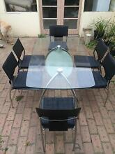 7pce glass dining setting Wallington Outer Geelong Preview