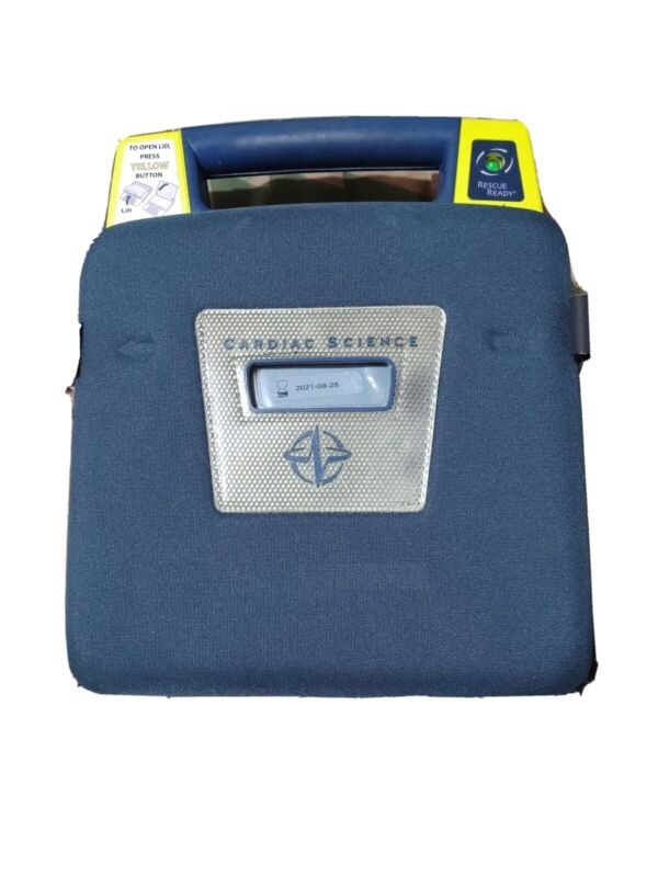 Cardiac Science Powerheart G3 Automatic AED- Pads and Battery 9390A