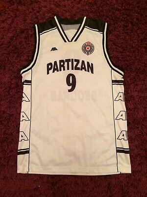 Partizan NAAI basketball jersey, Serbia