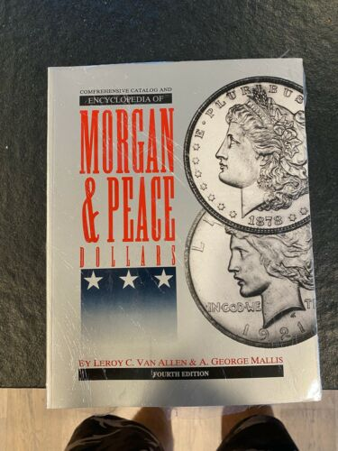 Vam Book 4th Edition NEW CATALOG & ENCYCLOPEDIA OF MORGAN & PEACE DOLLARS. NEW