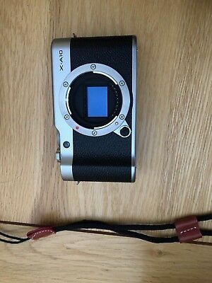 Fuji X-A10 Digital MIrrorless Camera Body in Silver with Black Body Only mint