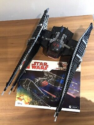 Lego Star Wars 75179 Kylo Ren's Tie Fighter. Please Read Descriptions!