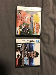 PES 2008 and Naruto Path of the Ninja