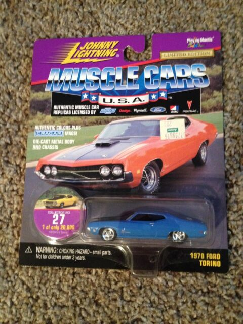 Johnny Lightning Muscle Cars Usa Ford Torino Ebay
