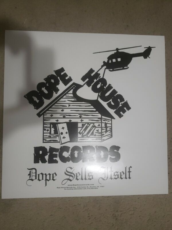 """Dope House Records Label Logo 24""""×24"""" Poster SPM Lucky Luciano"""