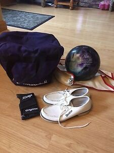 Bowling Bag, Shoes, Ball