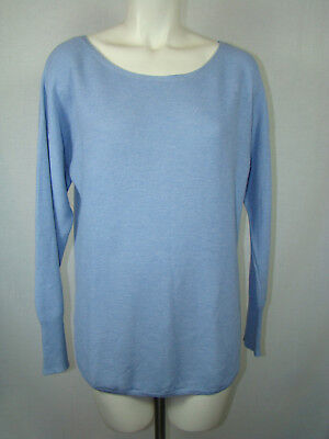 Banana Republic Light Baby Blue Sweater Light Weight Women's L Large for sale  Shipping to India