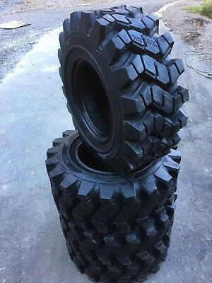 4 New Hd 14-17.5 Camso Sks753 Skid Steer Tires For Bobcat 14x17.5- 5032nd Tread