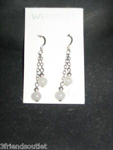 VARIOUS PIERCED EARRINGS, Sterling Silver & other metals Studs, hoops, Dangles