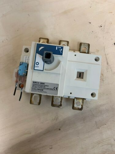 SIRCO 250A SWITCH DISCONNECTOR