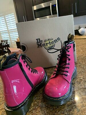 Dr. Martens NIB K Delaney Hot Pink Boot Kids size 12 - Never worn- Brand new!