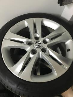 Honda Accord Euro Original Michelin 18 inch Alloys & Tyres Parramatta Parramatta Area Preview