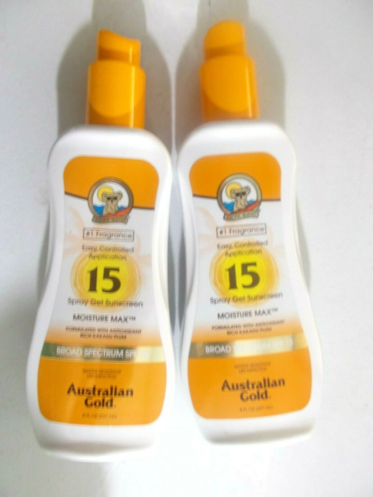 Australian Gold Exotic Blend Spray Gel Sunscreen Clear SPF 1