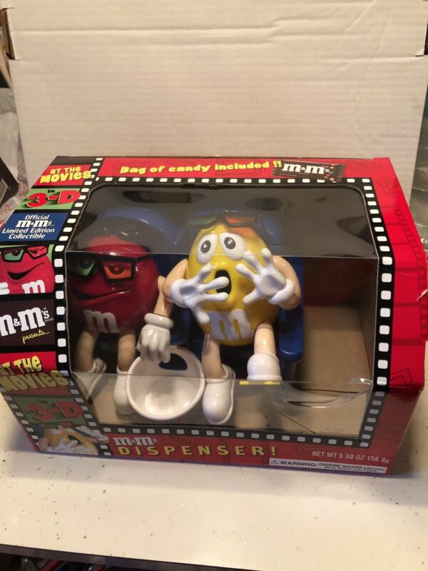 M&M Candy Dispenser Collectible