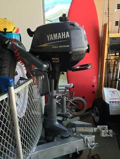 Yamaha 2HP Four Stroke Outboard Motor - 2008 Pelican Waters Caloundra Area Preview