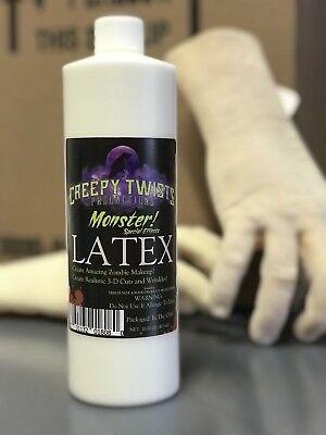 Creepy Twists Productions Halloween Monster 32 Oz Professional Liquid Latex - Halloween Liquid Latex