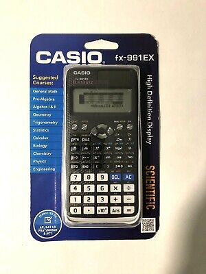 Casio FX-991EX Classwiz Scientific Calculator Black And White New In Package for sale  Shipping to South Africa