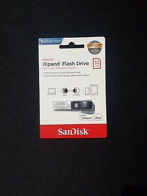 SANDISK iXpand USB 3.0 Dual Memory Stick - 32 GB, Black & Silver