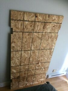 "Plywood 3/4"" coupé - Doit sortir ce week-end!"