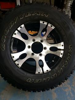 Wheels & tyres suit camper trailer or caravan x 3