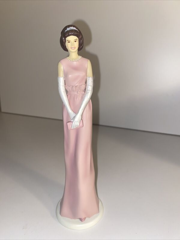"""Jackie Kennedy Hamilton Collection Collectible Figurine """"American Royalty"""""""