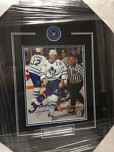 Signed sport pictures. Toronto maple leafs and more