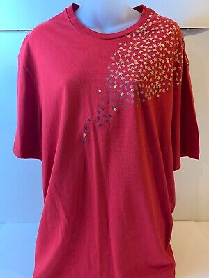 Nike Track And Field T Shirt Size XL Gold And Red