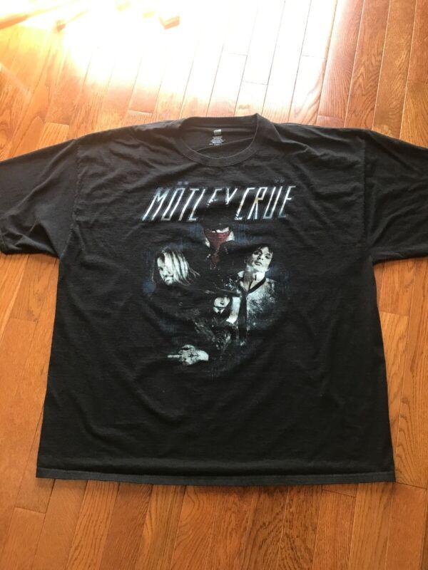 Motley Crue 2012 Concert Shirt Size XXL 2XL 2 Extra Large
