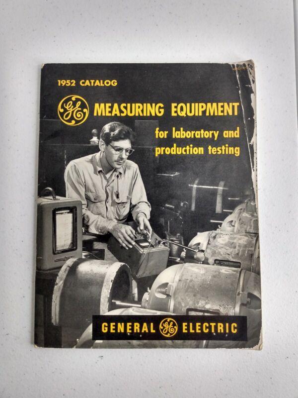 Vtg GENERAL ELECTRIC GE Catalog Measuring Equipment 1952