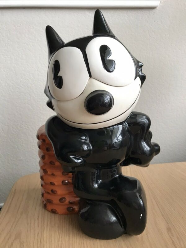 Treasure Craft Felix the Cat Cookie Jar