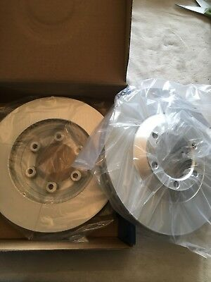 Fits Isuzu D-MAX 2.5 Ddi Genuine OE Quality Apec 6 Stud Brake Drums