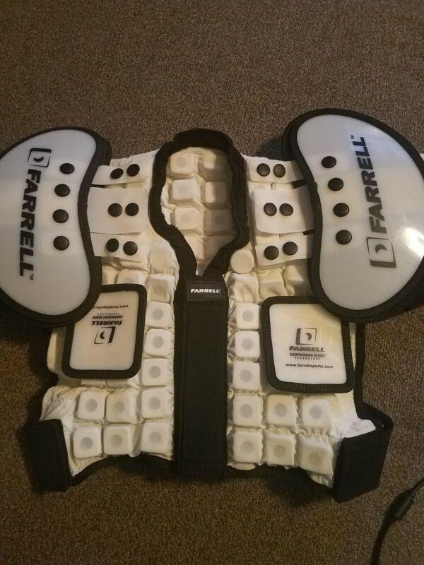 Farrell Compression Block Shoulder Pads Size XXS