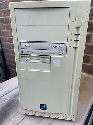 Vintage PC Tower PC PENTIUM 2 233mmx 256mb 4 HDD WIN 98 Pc Tower Uk