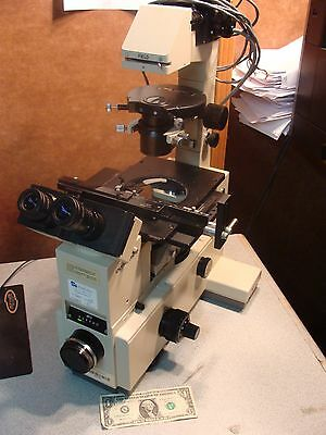 Olympus Imt-2 Inverted Phase Contrast Binocular Microscope - Tissue Culture
