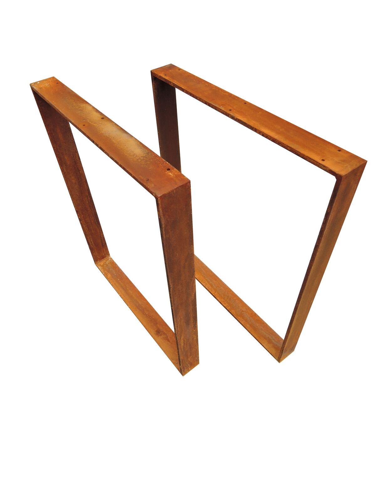 Esstisch Kufengestell ~ Tischgestell Esstisch Stahl Tischuntergestell Kufengestell 1 Paar 73x80cm Ros