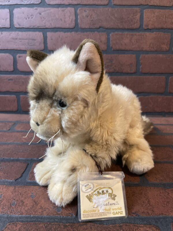 Webkinz Signature Ragdoll Cat - Code Status Unknown - Read Description