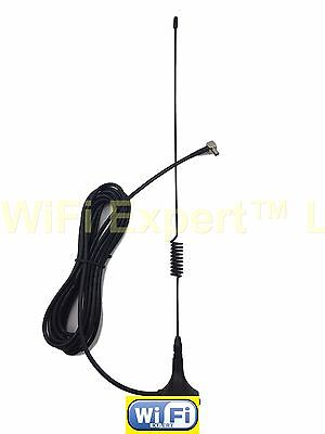 4G 3G GSM antenna 6dbi high gain magnetic base with 3meters cable TS9 male right