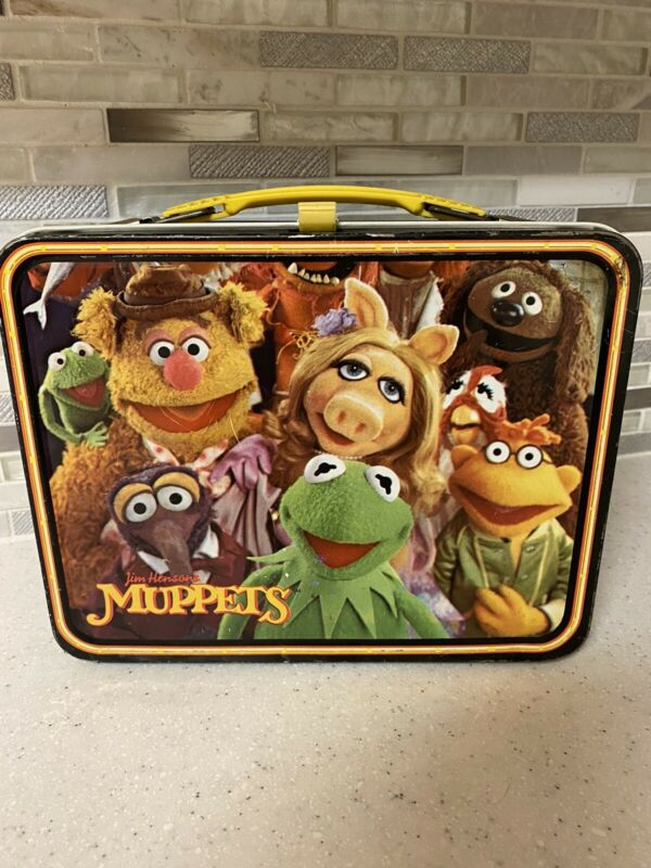 Vintage Kermit the Frog/Muppets Lunch Box (Henson Associates/Thermos) RARE