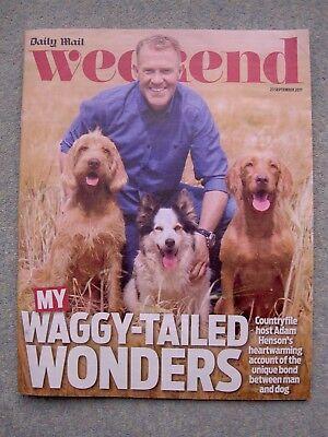 Weekend Magazine: Adam Henson, Lorraine Kelly, Martine McCutcheon, Vic Reeves (Kelly Henson)