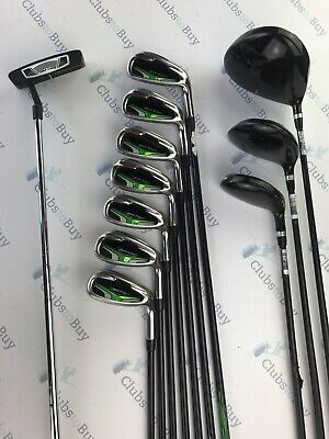 Wilson Vector Irons Prostaff Driver Fairway Rescue Putter Mens Graphite Full Set
