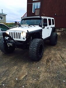 Jeep Wrangler Unlimited 4 door JKU