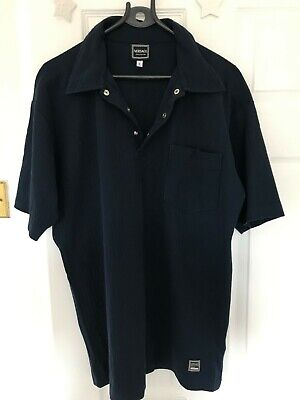 Versace Polo Mens Blue Size L