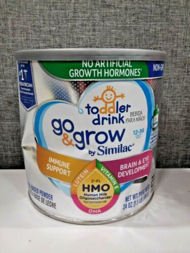 Go & Grow by Similac Toddler Drink with 2'-FL HMO for Immune Support, 24 Oz