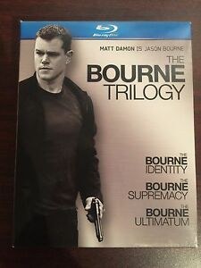 The Bourne Trilogy BLU-RAY