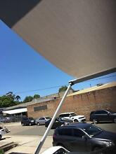 Awnings: Folding Arm, Pivot Arm, Wire/ Channel Guide & Canopy West Ryde Ryde Area Preview