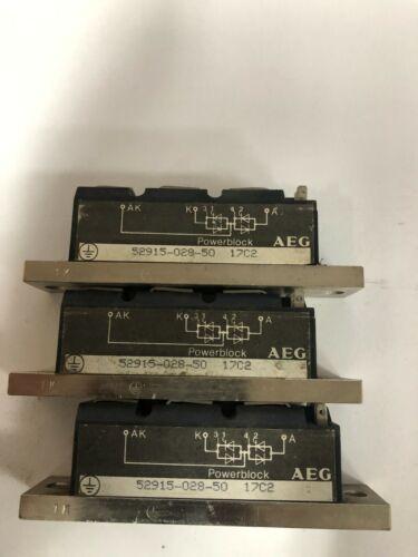 AEG Power Block 52915-028-50 Lot of 3