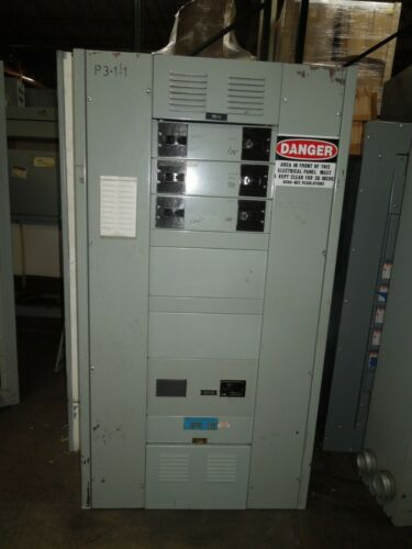 Ite Series 5 400a 3ph 208y/120v Main Breaker Panel W/ Distribution Breakers Used