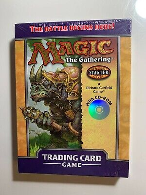 Magic the Gathering MTG Starter 2000 Two-Player Starter Set w/CD-ROM NEW SEALED