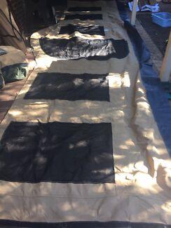 Oztrail canvas sunroom