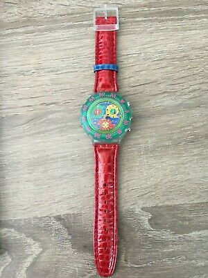 Vintage Swatch watch - Aquachrono Gents - Paradiso Perdido Large Variation
